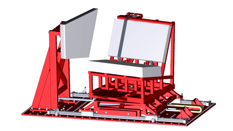 ADAC_Side_impact_sled_test_fixture